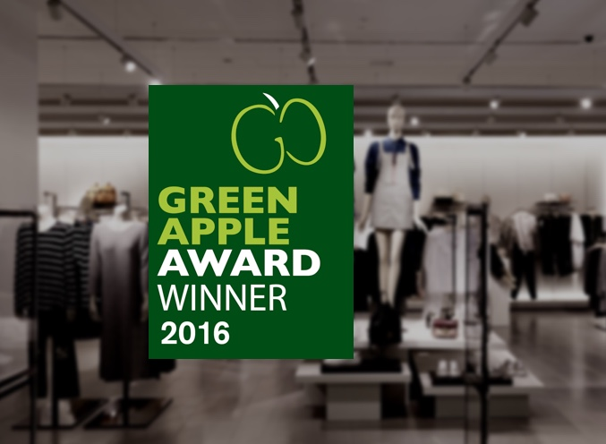 debenhams green apple award winner