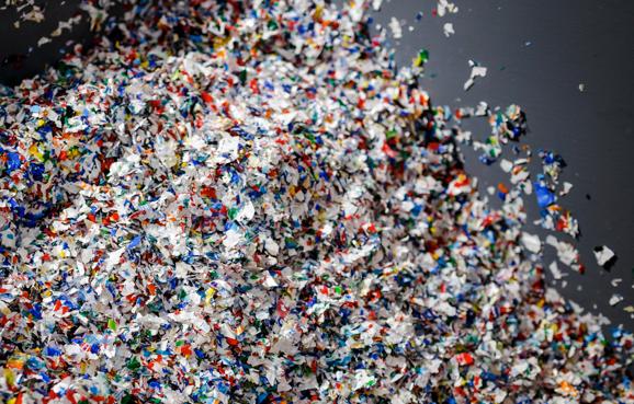 Plastic pile